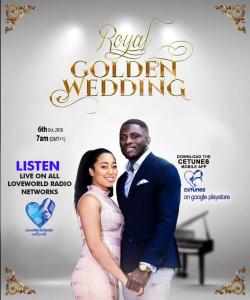 The LoveWorld World Live Wedding Stream