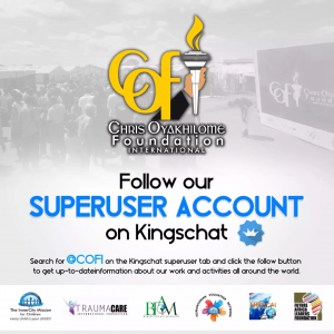 Chris Oyakhilome Foundation International: Now on KingsChat!