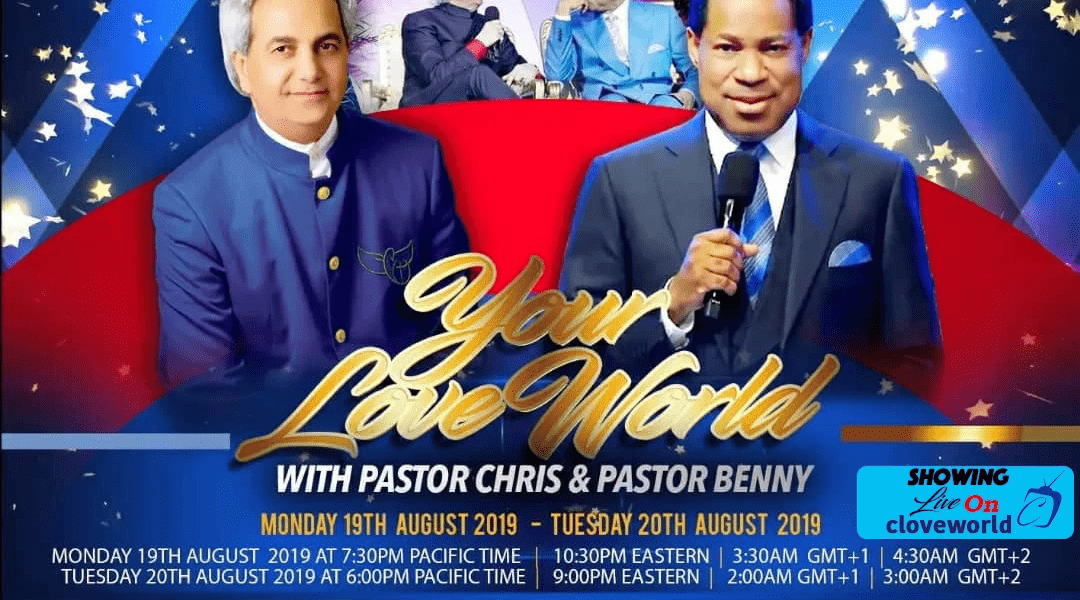 Pastor Chris and Pastor Benny LIVE on Your LoveWorld