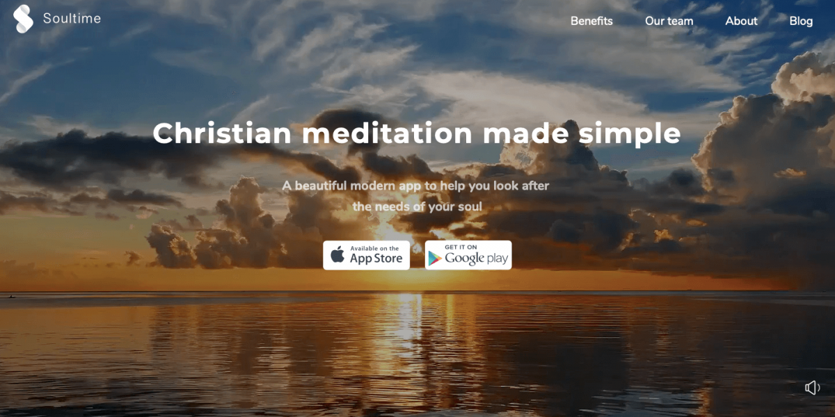The Most Relevant Christian Meditation App Today: Soultime