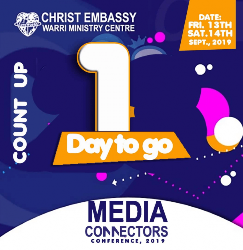 Don't Miss the Media Connectors Conference! (Warri Ministry Centre)
