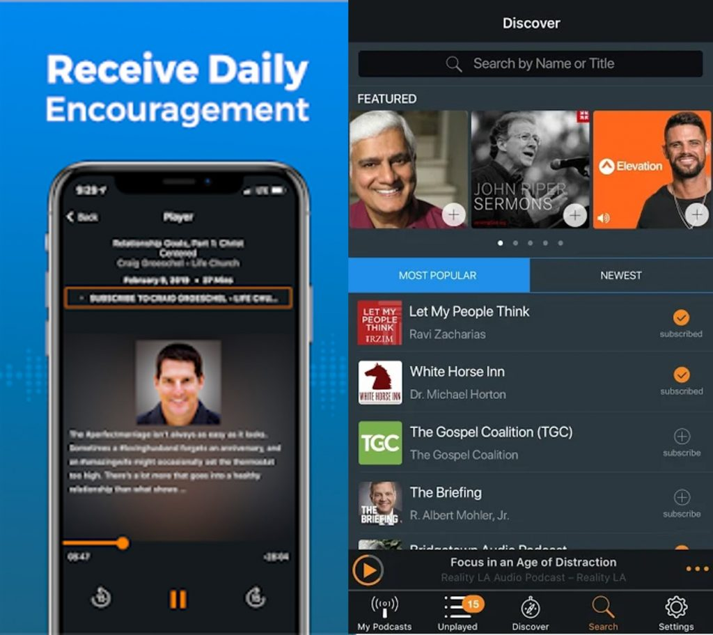 The Christian Podcast App
