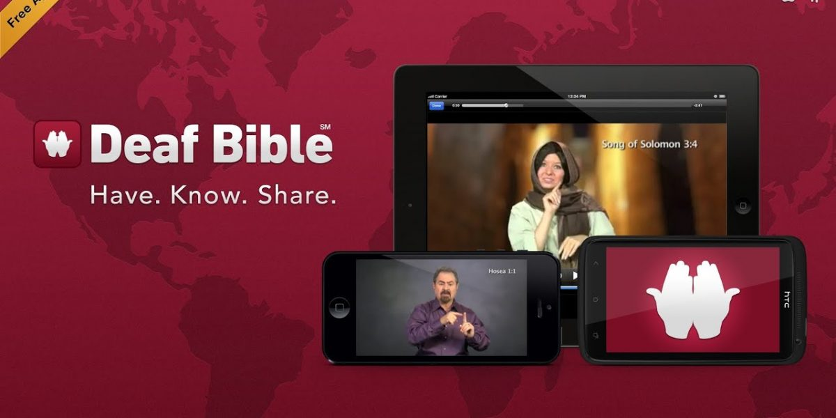 The Bible Now Available In Sign Language